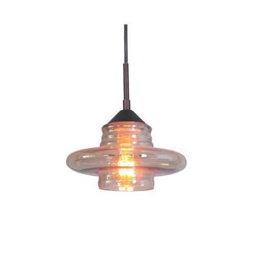 Woodbridge Lighting Transference 1 Light Mini Pendant