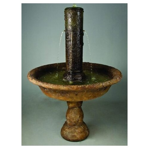 Henri Studio Cast Stone Small Tazza Fountain