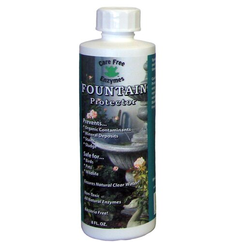 Care Free Enzymes Fountain Protector - 8 Oz.