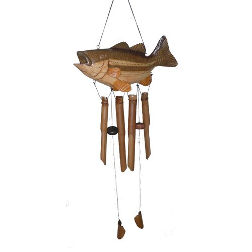 Cohasset Imports Big Mouth Bass Wind Chime