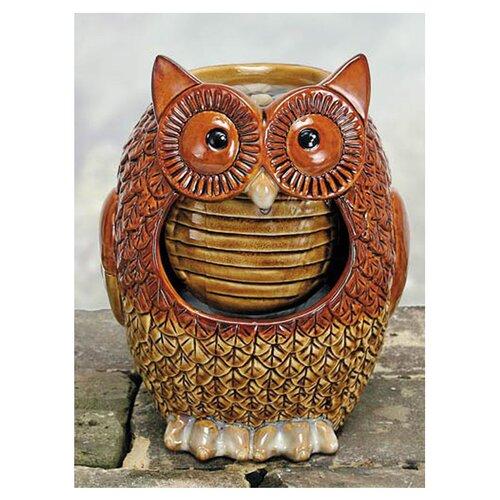 Coyne's Company Porcelain Owl Fountain