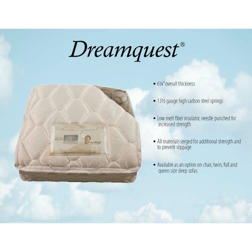 Berger Queen Dreamquest Convertible Sofa