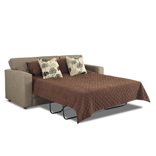 Klaussner Furniture Berger Queen Dreamquest Convertible Sofa