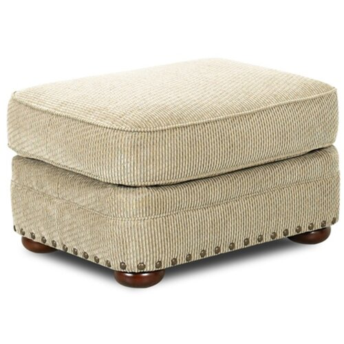 Klaussner Furniture Cliffside Ottoman