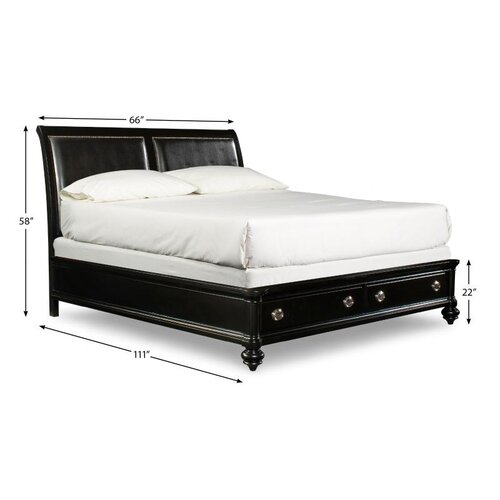 Danbury Storage Sleigh Bed