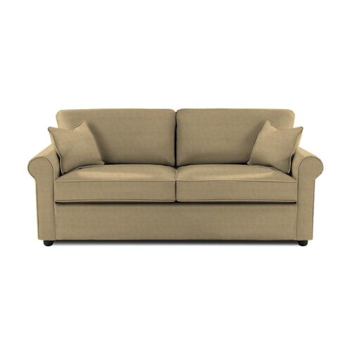 Brighton Microsuede Queen Sleeper Sofa