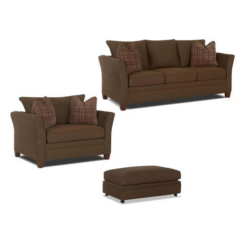 Klaussner Furniture Taylor Storage Ottoman