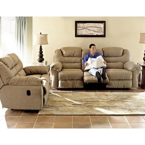 Klaussner Furniture Contempo Reclining Loveseat