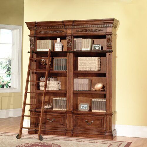 """Parker House Furniture Grand Manor 94.5"""" Bookcase"""