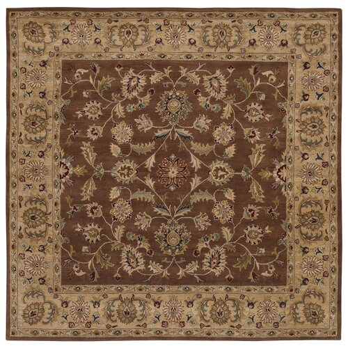 LR Resources Shapes Brown/Gold Persian Rug