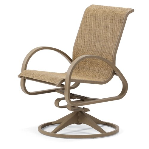 Telescope Casual Aruba II Supreme Swivel Dining Arm Chair