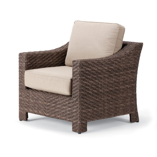 Telescope Casual Lake Shore Deep Seating Arm Chair with Cushions