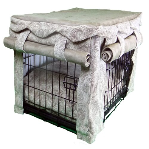 Snoozer Pet Products Cabana Pet Crate Cover with Pillow Dog Bed