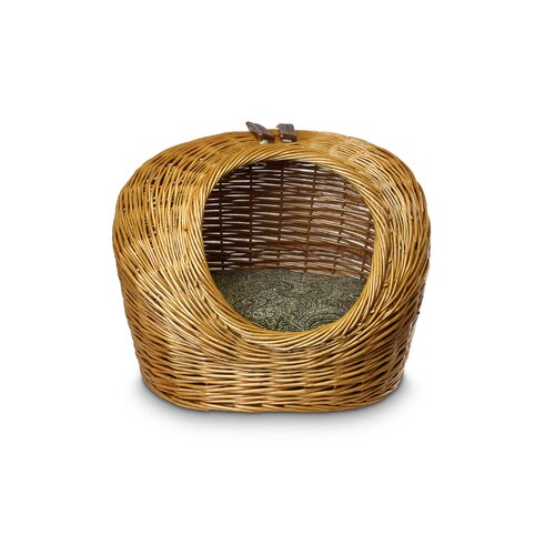 Snoozer Pet Products Luxury Wicker Cat Basket and Bed