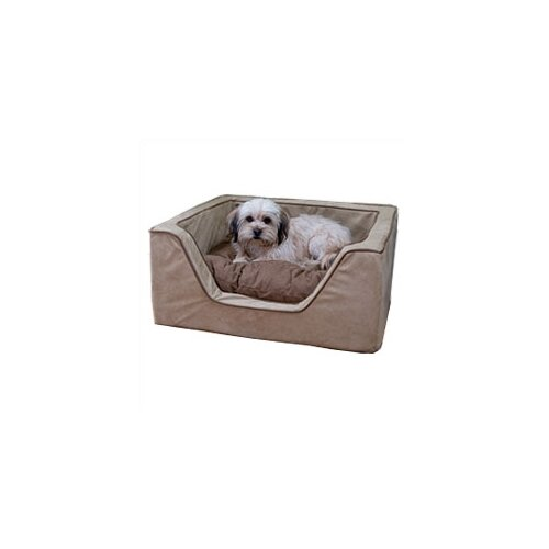 Luxury Square Pet Bed with Memory Foam