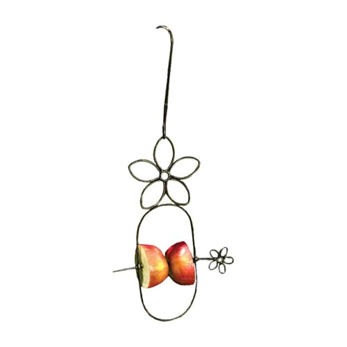 Flower Fruit Spear Hanging Decorative Bird Feeder
