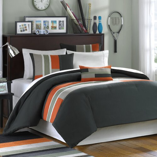 Pipeline Printed 3 Piece Comforter Set