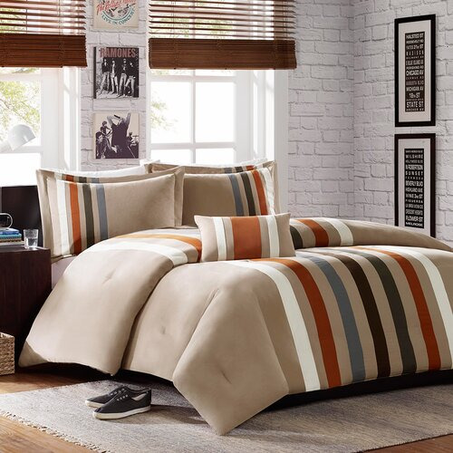 Fancy Bedroom Chairs Modern Zen Bedroom Rustic Chic Bedroom Decor Exclusive Bedroom Sets: Mi-Zone Sawyer Comforter Set & Reviews