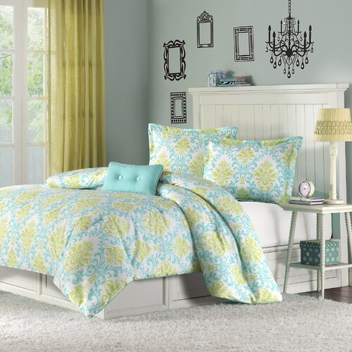 Mi-Zone Katelyn Printed Comforter Set