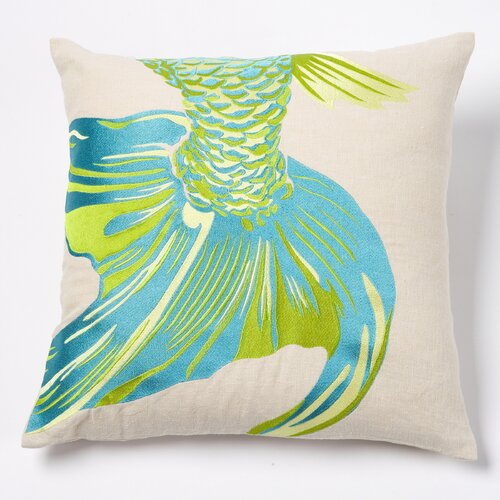 emma at home by Emma Gardner Fishtail Linen Pillow