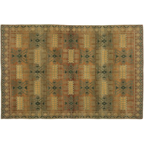 Wildon Home ® Inca Gold Rug