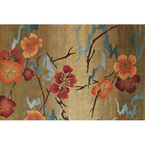 Wildon Home ® Kimono Gold Rug
