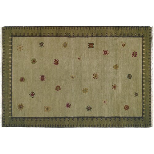 Wildon Home ® Sol Sage Tribal Rug