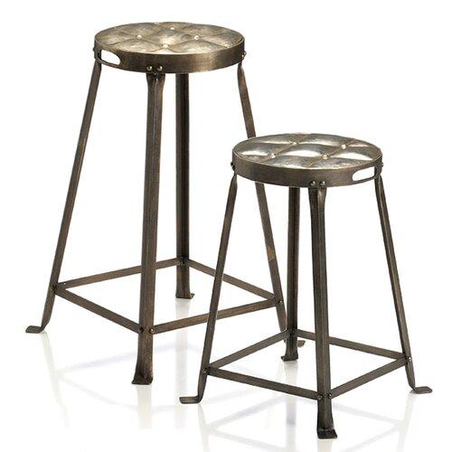 "Wildon Home ® Metal Tufted 26"" Bar Stool"