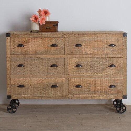Agra 6 Drawer Dresser