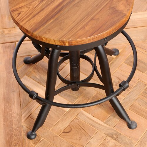 "Wildon Home ® Umaria 18"" Adjustable Bar Stool"