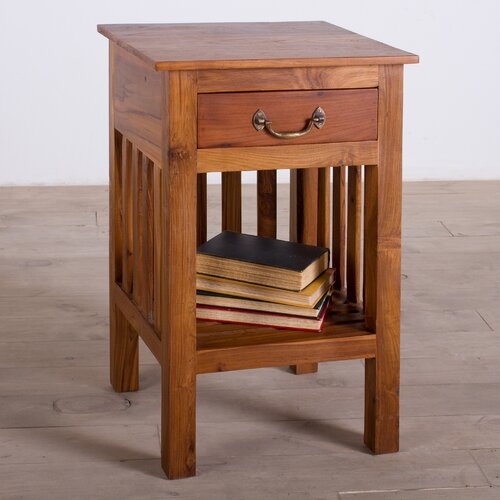 Wildon Home ® Mission 1 Drawer Nightstand