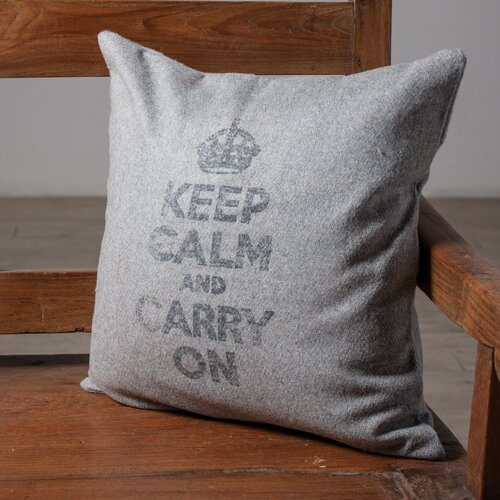 Keep Calm Accent Pillow