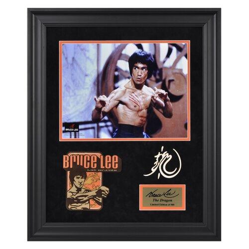 Bruce Lee 'The Dragon' Limited Edition Framed Memorabilia