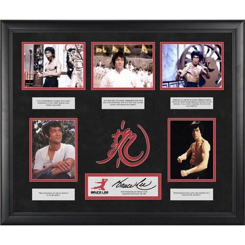 Bruce Lee 'The Wisdom Of Bruce Lee' Limited Edition Framed Memorabilia