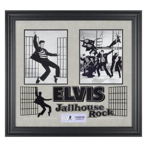 Mounted Memories Elvis Presley 'Jailhouse Rock' I Framed Memorabilia