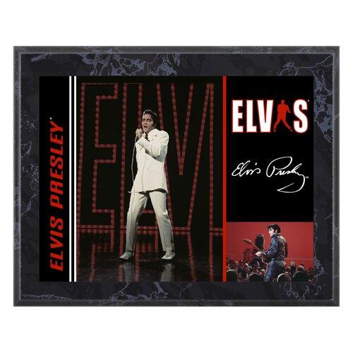 Mounted Memories Elvis Presley '68 Special' Memorabilia Plaque