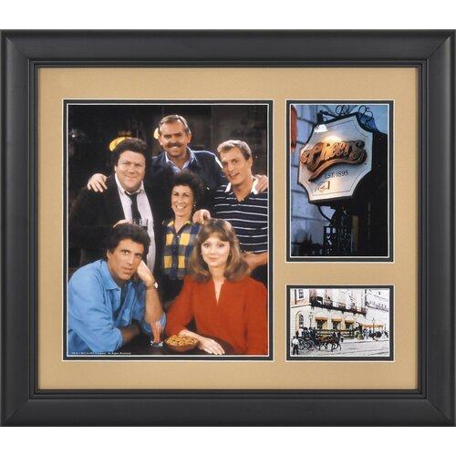 Mounted Memories Cheers Framed Memorabilia