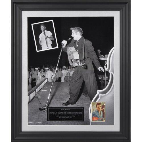 Mounted Memories Elvis Presley '1956' Limited Edition Presentation Framed Graphic Art