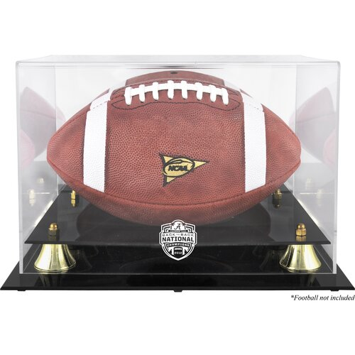Mounted Memories Alabama Crimson Tide 2012 BCS Champions Football Display Case