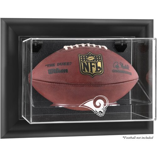 Mounted Memories NFL Wall Mounted Football Logo Display Case