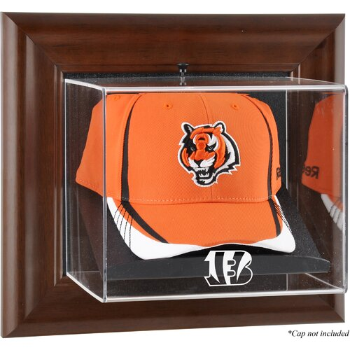 Mounted Memories NFL Wall Mounted Logo Cap Case