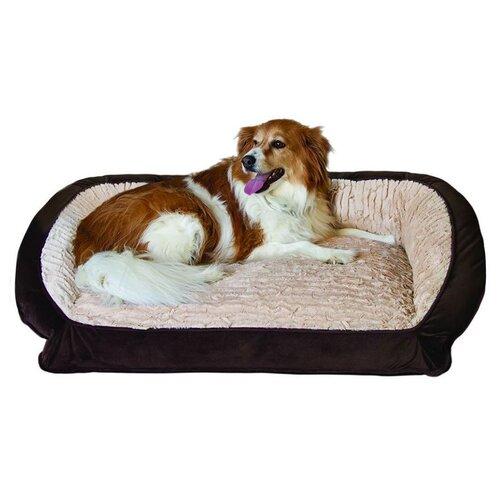 Bolster Memory Foam Pet Bed