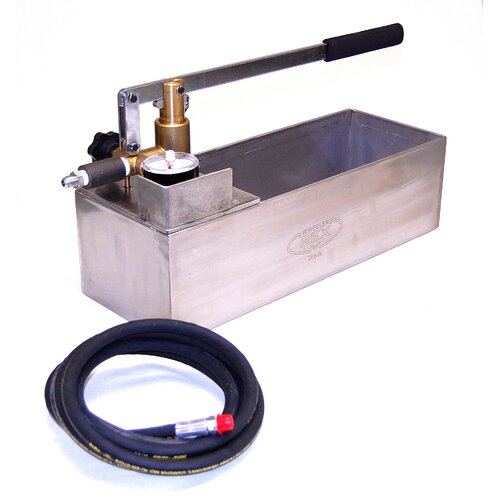 Wheeler Rex 870 PSI Hand Operated Hydrostatic Test Pump with Tank