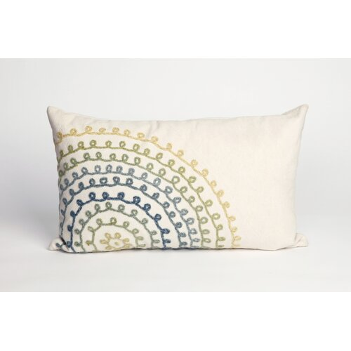 Ombre Threads Rectangle Indoor/Outdoor Pillow