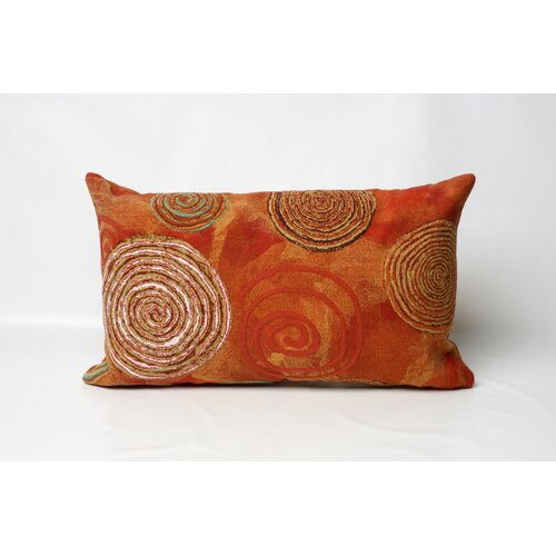Graffiti Swirl Rectangle Indoor/Outdoor Pillow