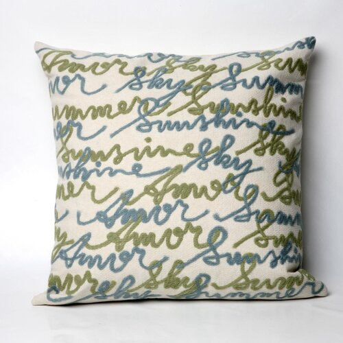 Amour Square Indoor/Outdoor Pillow