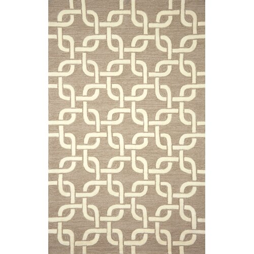 Liora Manne Spello Chains Natural Outdoor Rug