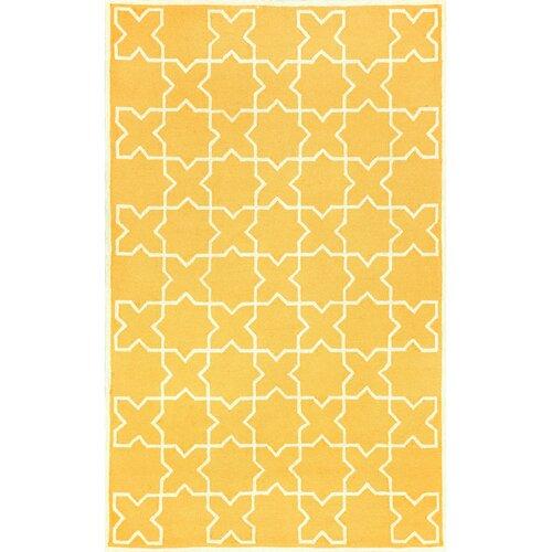 Liora Manne Capri Yellow Moroccan Tile Outdoor Rug