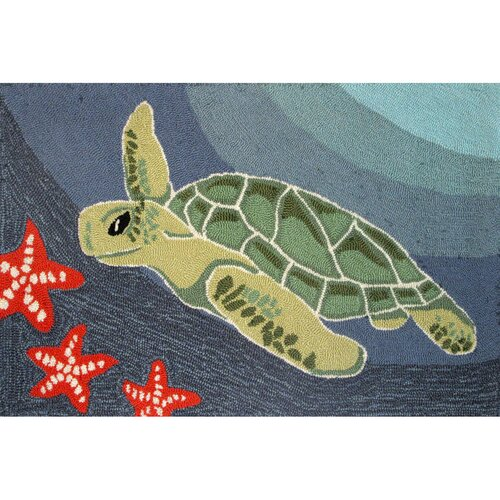 Frontporch Ocean Sea Turtle Rug