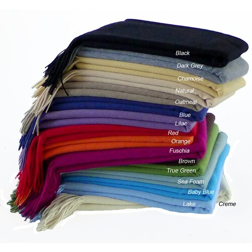 Cashmere Republic Signature Waterwave Cashmere / Wool Throw